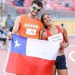 Margarita Faúndez logró el cuarto lugar en los 800 metros T12 en Toronto