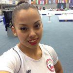 Franchesca Santi logra medalla de bronce en salto en el World Challenge de Croacia