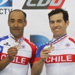 """""""Monín"""" Sepúlveda y Gonzalo Miranda ganaron bronce en el Panamericano de Ciclismo en Pista"""