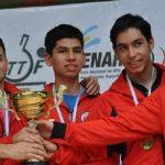 Chile terminó en el tercer lugar del Sudamericano de Tenis de Mesa