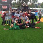 Selección Chilena Femenina abre con un triunfo la segunda fase del Mundial de Fútbol Calle