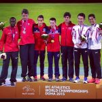 Cristián Valenzuela gana medalla de oro en el Mundial de Atletismo Paralímpico