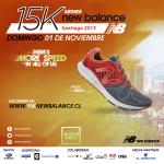 Este domingo se realizará la corrida New Balance 15k Series