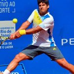 Bastián Malla cayó en primera ronda de dobles en el Futuro 8 de Túnez
