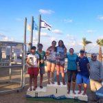 Velero Santander se coronó campeón del Nacional Israelí Clase 470