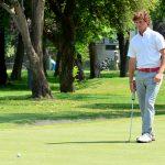 Matías Domínguez lidera el abierto de golf del Country Club