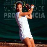 Ivania Martinich cayó en la primera ronda del ITF de Targu Jiu