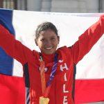 Ciclista Paola Muñoz firma contrato con equipo profesional argentino
