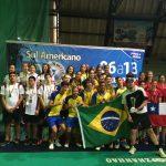 Chile logra medalla de bronce por equipos juvenil en el Sudamericano de Badminton