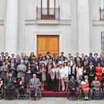 Presidenta de la República encabezó la entrega de los Premios del Deporte 2015