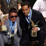 Cristián Valenzuela y Claudio Bravo ganaron el premio Mejor de los Mejores 2015