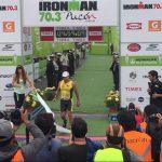 Cristián Bustos logró el segundo lugar de la categoría senior del Ironman 70.3 Pucón