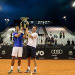 Julio Peralta y Horacio Zeballos se titularon campeones de dobles del ATP de Sao Paulo