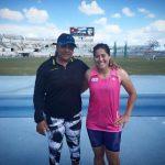 María Paz Ríos logra nuevo récord chileno de lanzamiento de la jabalina