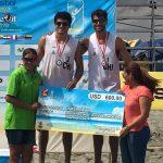 Los primos Grimalt terminan terceros en nueva fecha del Circuito Sudamericano de Volleyball Playa
