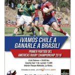 Comenzó la venta de entradas para el debut de Chile en el Americas Rugby Championship