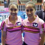 Katherine Low y Paulina Vega ganan medalla de bronce en el Latinoamericano de Tenis de Mesa