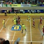 Universidad de Concepción gano el primer partido de la final de la Liga Nacional de Básquetbol