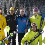 Team Chile de esquí alpino apresta su debut en el Mundial Juvenil de Rusia