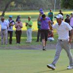 Juan Cerda se tituló campeón del Abierto de Golf Los Lirios