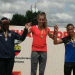 Isidora Jiménez gana medalla de oro en los 200 metros planos del Grand Prix de Ecuador