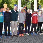 Atletas de elite se aprontan para disputar el Maratón de Temuco
