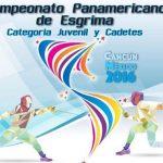 Equipo de florete masculino juvenil remata en el séptimo lugar del Panamericano de Cancún