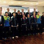 Este miércoles se realizó el lanzamiento del Preolímpico de Tenis de Mesa