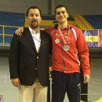 Rolf Nickel ganó medalla de plata en el Preolímpico de Esgrima