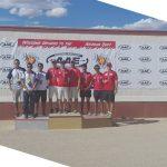 Chile gana medalla de bronce por equipos en el Arizona Cup de Tiro con Arco