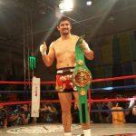 Iván Galaz retuvo el título mundial de Kickboxing