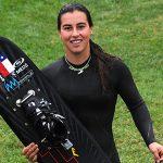 Valentina González revalidó el título de overall en el Nacional de Esquí Náutico