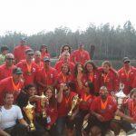 Chile se tituló campeón del Sudamericano de Canotaje de Velocidad Menores, Cadetes y Masters