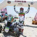 Ignacio Casale se quedó con el título del Rally de Qatar