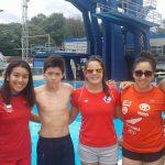 Chile finaliza su participación en el Sudamericano de Clavados con dos nuevas medallas