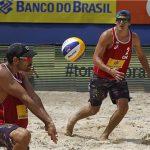 Primos Grimalt avanzan a semifinales de la fecha final del Circuito Sudamericano de Volleyball Playa