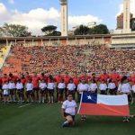 Chile igualó ante Brasil por la segunda fecha del Sudamericano Mayor A de Rugby