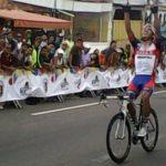 José Luis Rodríguez suma su segunda medalla de oro en el Panamericano de Ciclismo en Ruta