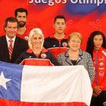 Erika Olivera será la abanderada chilena en los Juegos Olímpicos Río 2016