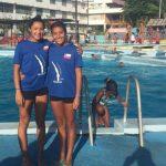 Mayte Salinas logró dos medallas de oro en campeonato de clavados cubano