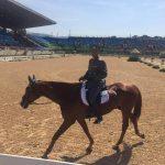 Carlos Lobos se ubica en el puesto 20 tras primer día de la competencia ecuestre en Río
