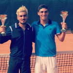 Cristóbal Saavedra y Ricardo Urzúa se titularon campeones de dobles en Rusia