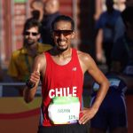 Yerko Araya ocupó el puesto 39 en los 20 kilómetros de marcha del Mundial de Atletismo
