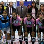 Este lunes se inauguró la Copa Libertadores de Futsal Femenino