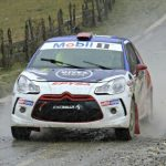 Jorge Martínez ganó la primera jornada del Gran Premio de Osorno del Rally Mobil