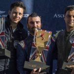 Cristian Bolton logró el tercer lugar en nueva fecha del Red Bull Air Race