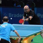 Cristián Dettoni sufrió su segunda derrota en el tenis de mesa de Río 2016