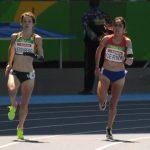 Amanda Cerna clasificó a la final de los 400 metros clase T47 en Río 2016