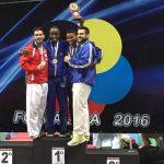 Chile suma siete medallas tras primer día de la Premier League de Karate en Brasil