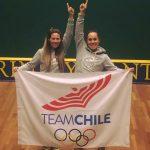 Giselle Delgado y Ana María Pinto se titulan campeonas panamericanas de squash